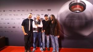 The Fre Electric Band en el Photo call de los Blue Angel Awards