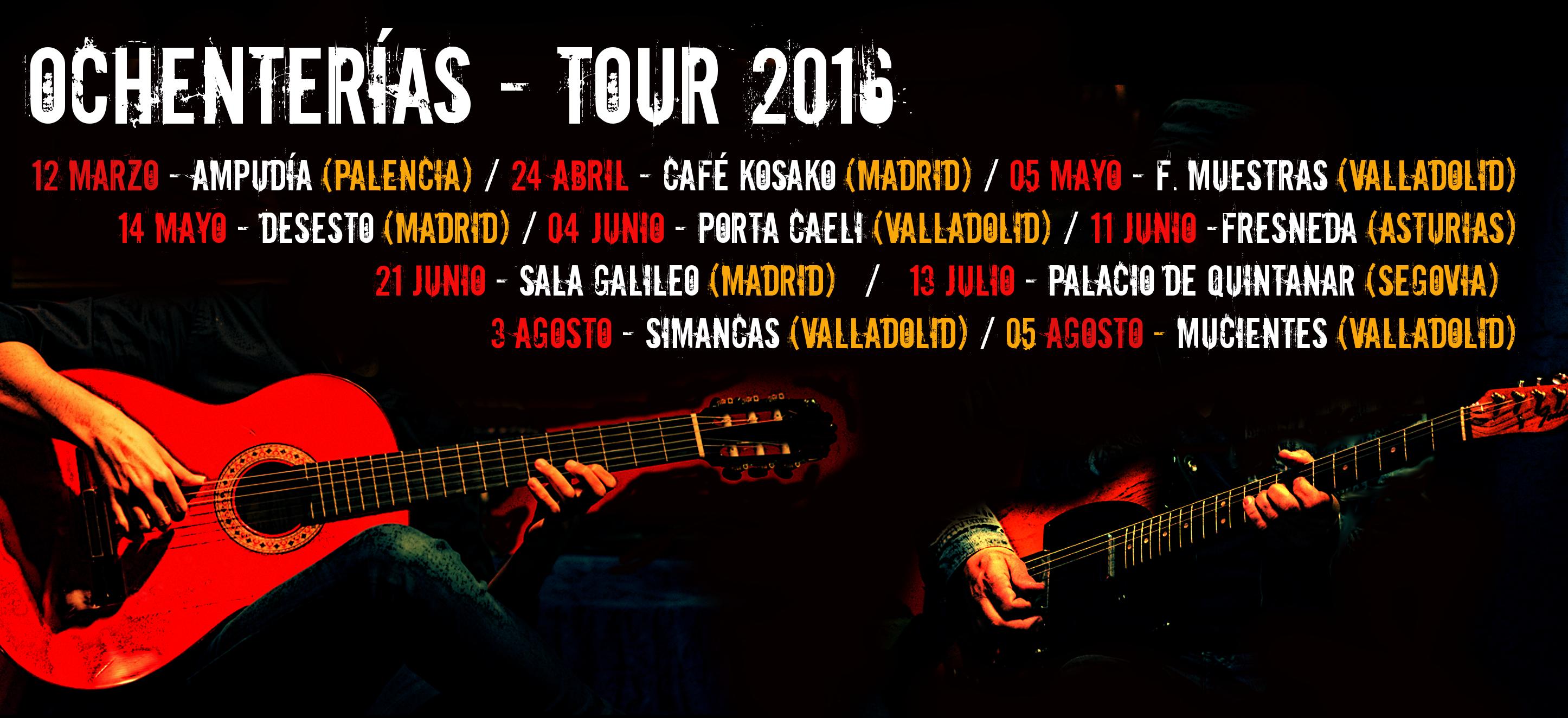 OCH tour 2016 julio